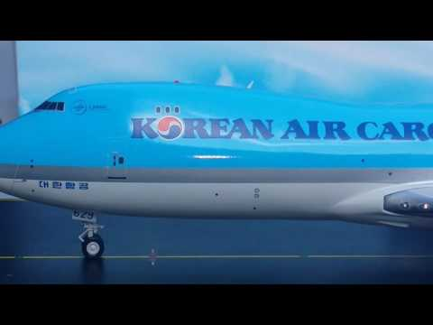 JC Wings 200 Korean Air Cargo B747-8F(Frieghter)Review