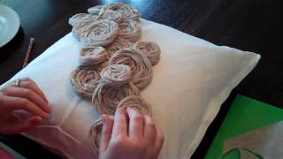 How to Make Rolled Rosette Flowers