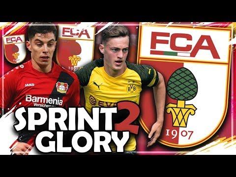 NUR MIT BUNDESLIGA ZUGÄNGEN ZUM CL TITEL ?! 💥🔥   FIFA 19: FC AUGSBURG Sprint to Glory Challenge