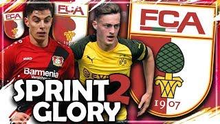 NUR MIT BUNDESLIGA ZUGÄNGEN ZUM CL TITEL ?! 💥🔥 | FIFA 19: FC AUGSBURG Sprint to Glory Challenge