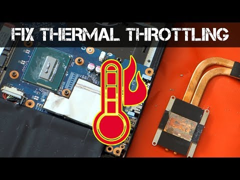 THERMAL THROTTLING! – How to fix an Overheating Laptop
