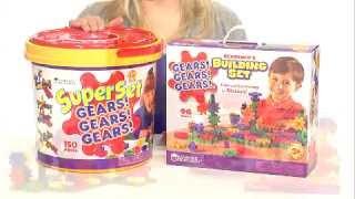 Learning Resources Gears! Gears! Gears! Beginner's Building Set