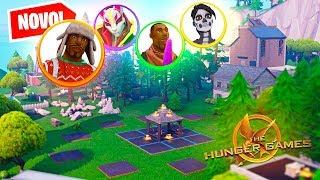 CRIEI UM HUNGER GAMES NO MODO CRIATIVO DO FORTNITE - Fortnite ( Creative )