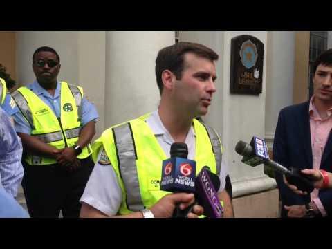 NOPD officers get bright new vests