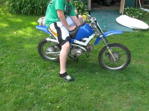 Baja Dirt Bike 90cc 2 Youtube