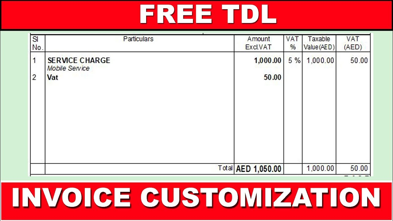 How To Set Particulars Details In Left Align Tally Erp 9 Invoice Format
