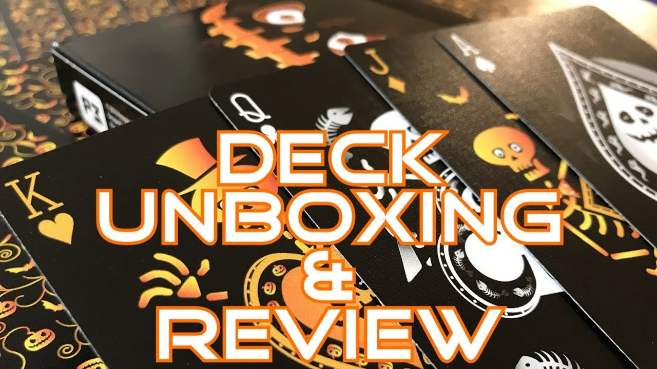 Halloween Playing Cards – Unboxing & Review – Ep31 – Inside the Casino