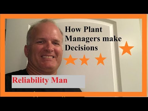 How Plant Managers Make Decisions