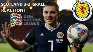 SCOTLAND 3-2 ISRAEL REACTION: PROMOTION, PLAY-OFFS AND POT THREE