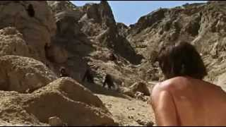 Man vs Baboon .... Sands of the Kalahari (1965)