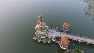 DJI P4 高雄 空拍 蓮池潭風景區 龍虎塔  Taiwan Aerial Video Kaohsiung Lianchi Lake Dragon Tiger Tower 20161029