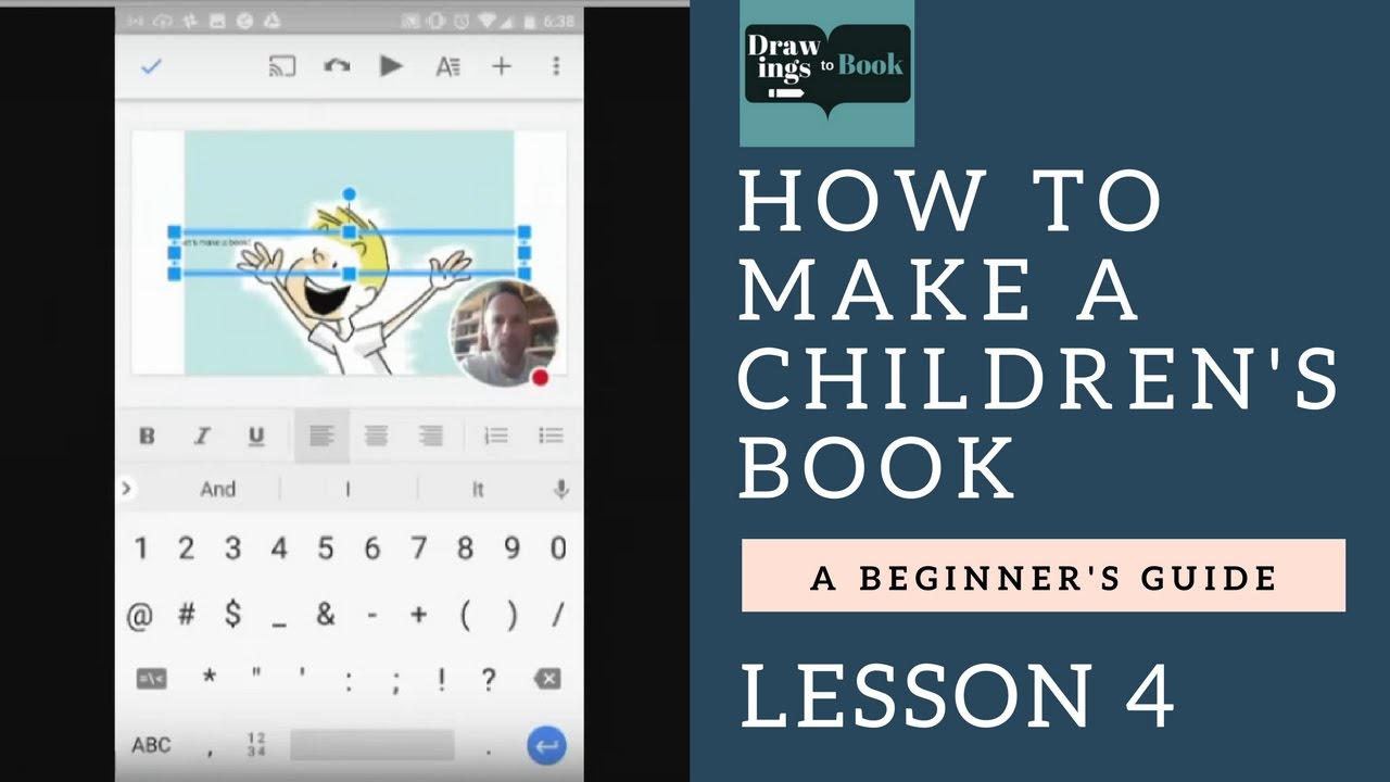 how to make a children s book layout and text lesson 4 youtube