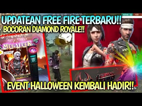 EVENT HALLOWEEN KEMBALI HADIR!! BOCORAN UPDATE FREE FIRE TERBARU!!