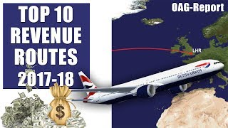 Top 10 Airlines - Top 10 Biggest Airline Money Making Routes in the World - 2018