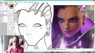 Overwatch's Sombra Speed Video - Animation Girl