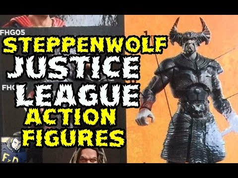 STEPPENWOLF Y JUSTICE LEAGUE EN LINEA DE FIGURAS DE ACCION DC COMICS MULTIVERSE