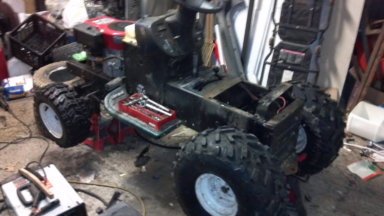 Build an off road lawn mower Previw and layout - YouTube