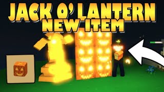how to get JACK O' LANTERNS!! Islands ROBLOX