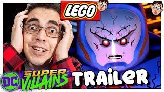 LEGO DC SUPER VILLAINS - REAGINDO AO TRAILER DA GAMESCOM DO NOVO JOGO LEGO FOCADO NOS VILÕES DA DC