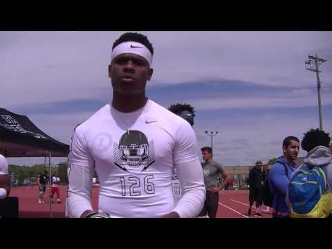 Interview with Freedom football player Robert Mayo from the Elite 11 2017