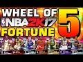 Wheel of NBA 2K Fortune 5 (The Return)