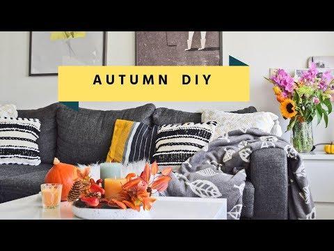 Dekoracja na jesień DIY | Fall Table Centerpieces DIY