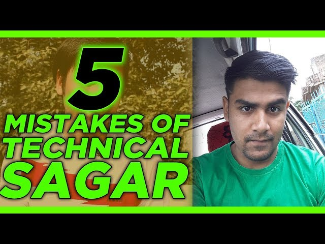 Sagar Exposed | 5 Mistakes of Abhishek Sagar | Technical Sagar | Sagar Ki Vani