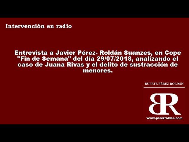 El caso de Juana Rivas y la Sustracción Internacional de Menores