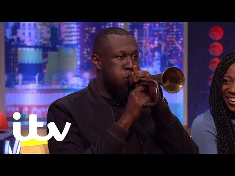 The Jonathan Ross Show   Stormzy Surprises Russell Howard With His Hidden Talent   ITV