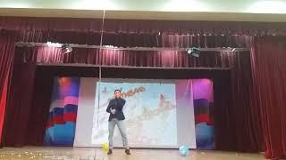 Мурат Биджиев на фестивале «Я-первокурсник»