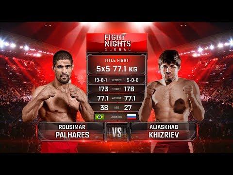 Русимар Пальярес vs. Алиасхаб Хизриев / Rousimar Palhares vs. Aliaskhab Khizriev