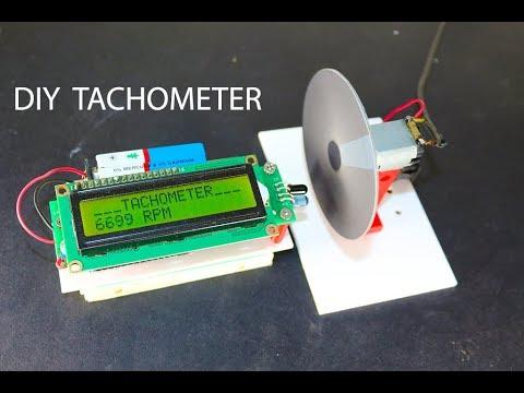 DIY Arduino based Digital Tachometer │ Revolution counter