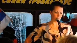 Катя Роксман читает свои короткие стихи