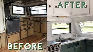 EXTREME CAMPER Makeover |Before & During UPDATE | Collab with THE DIY MOMMY