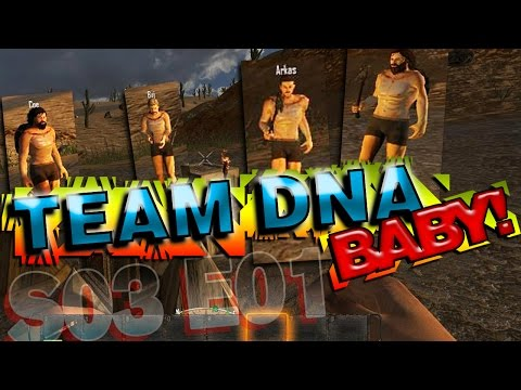 Mindcrack 7DTD - S03 E01 Team DNA Baby!