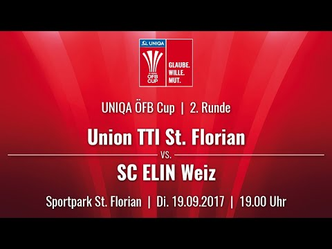 19.09.2017 / 19:00 Uhr Union TTI St. Florian (STF) vs. SC ELIN Weiz (SCW)