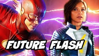 The Flash Season 5 Future Flash Upgrades and Wonder Woman 2 Cheetah Preview Explained