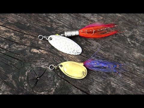 Bright Vs Dark: Testing Fishing Lures / Spinners For Trout & Perch. Рыбалка форель блесна вертушка.