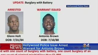 An Arrest Warrant Has Been Issued For Antonio Brown