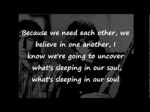 Acquiesce - Oasis (Lyrics)