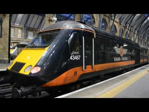 British Rail Class 43 HST Engine Start Up