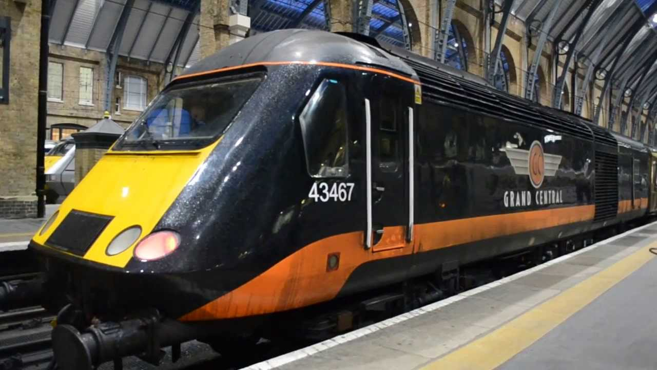British Rail Class 43 HST Engine Start Up - YouTube