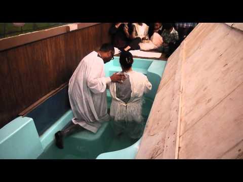 New Hope Missionary Baptist Church - 03/09/2014 - Baptism