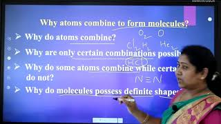 I PUC | Chemistry | Chemical bonding and Molecular structure -01
