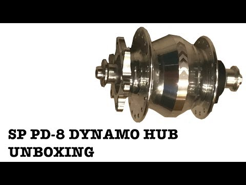 SP PD 8 Dynamo Hub Unboxing
