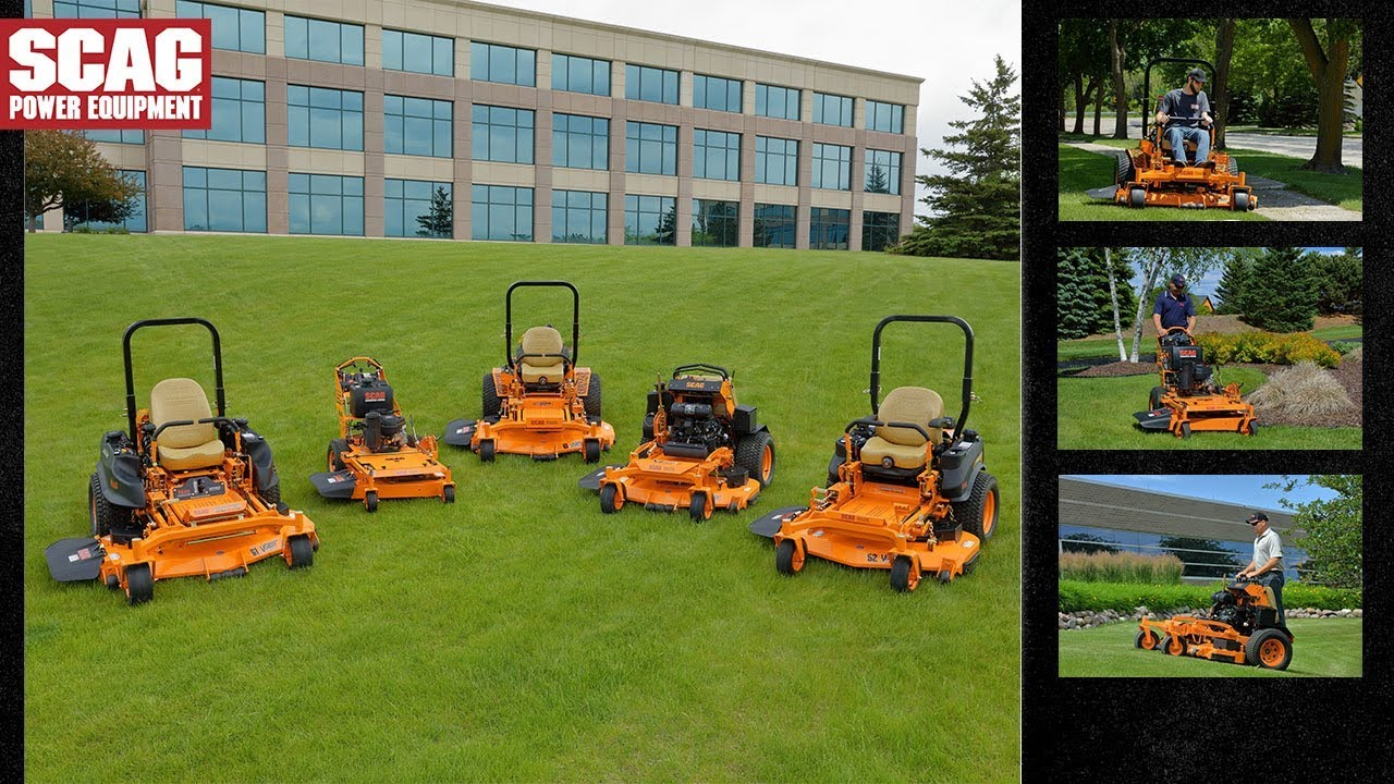 Scag Commercial Mowers