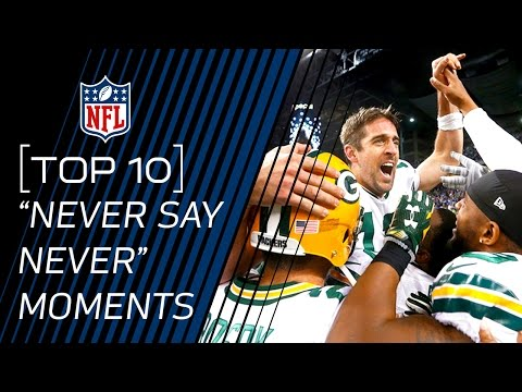 """Top 10 """"Never Say Never"""" Moments of 2015 