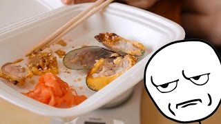 18+ Славный Обзор. Delicious Food. Мидии из риса.