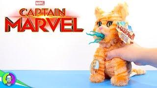 """GOOSE THE CAT"" Plush Review   Captain Marvel Movie"
