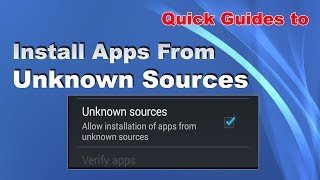 Quick Guides to Install Apps from Unknown Sources in Samsung Tizen Phones